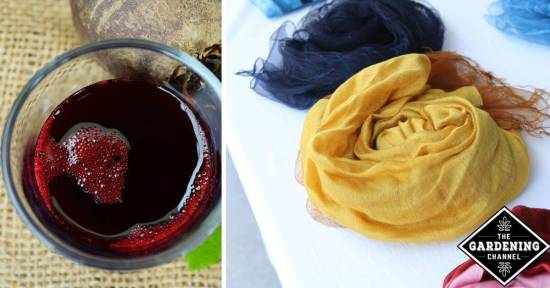 make your own natural dye