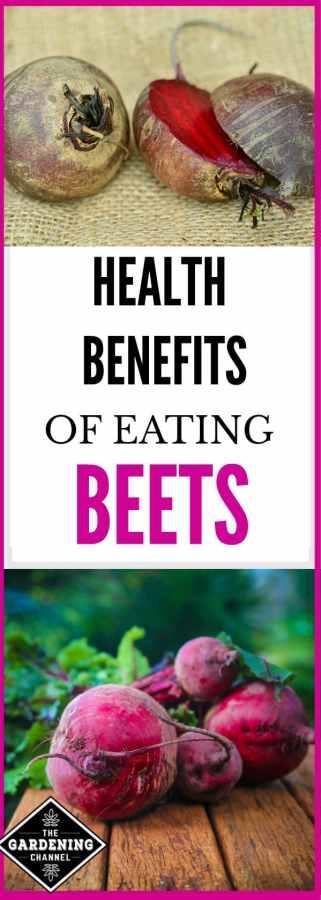 health benefits of beets