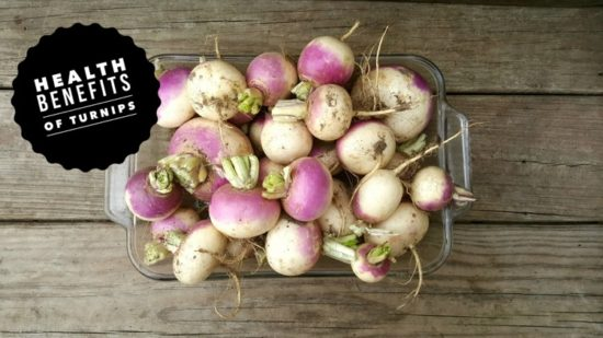health benefits of turnips