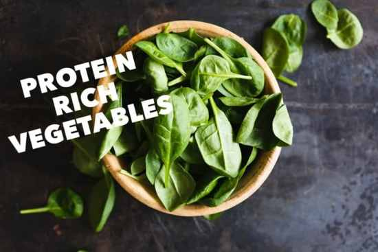 Vegetables High in Protein