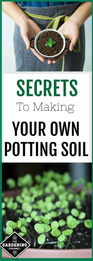 Make your own potting soil