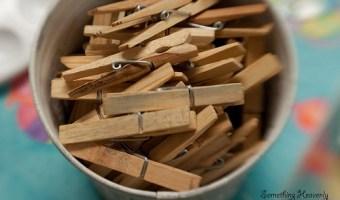 Clothespins: A Helpful Rose Gardening Gadget