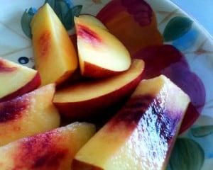 healthy peach recipes