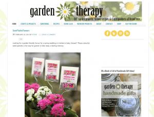 garden therapy blog
