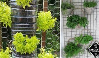 10 cool vertical garden ideas