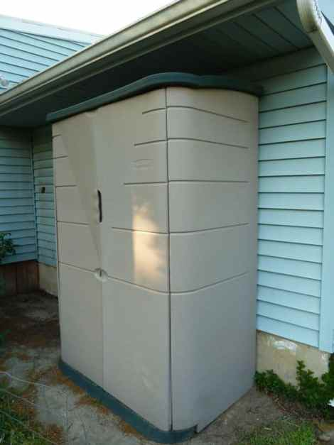Rubbermaid storage shed, reviewed