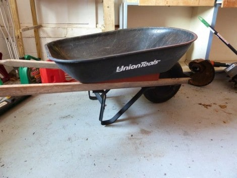 union tools 4 cubic foot wheelbarrow