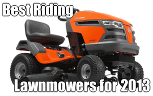 best riding mowers 2013 intro graphic