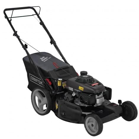craftsman gas self propelled mower
