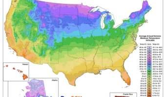 2012 plant hardiness zones