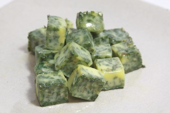 Frozen Herb Cubes Chives