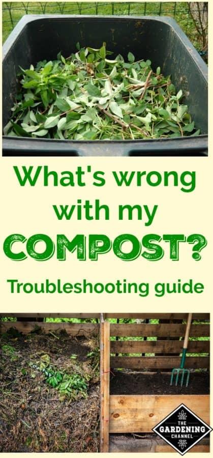 troubleshoot compost
