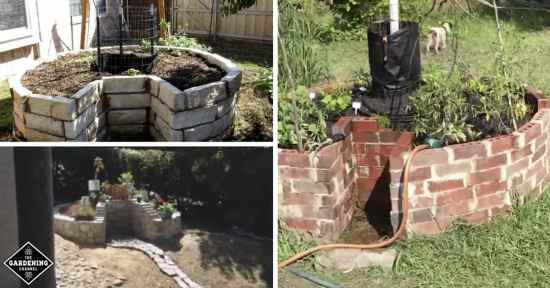 how to build keyhole garden