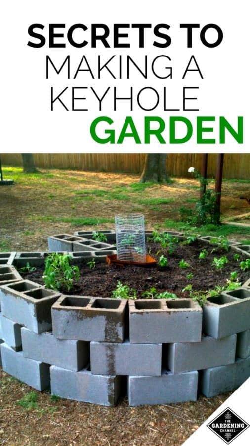 How To Make A Keyhole Garden Gardening Channel