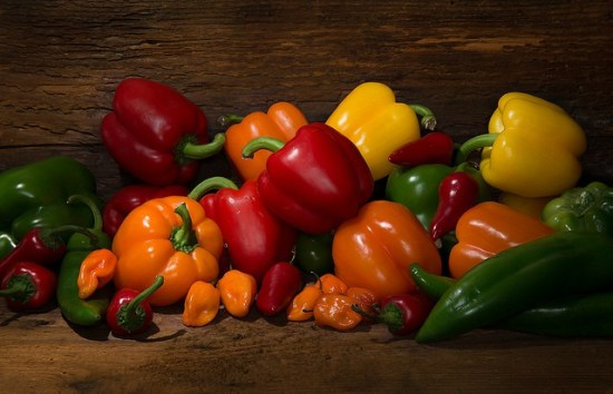 Peppers are good container vegetables