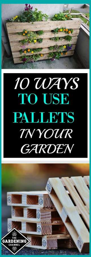 Using Pallets in Garden