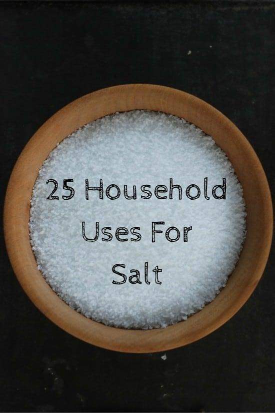 25 Household Uses For Salt