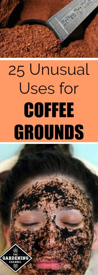 25 uses for coffee grounds