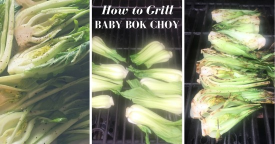 Steps to Grilling Baby Bok Choy