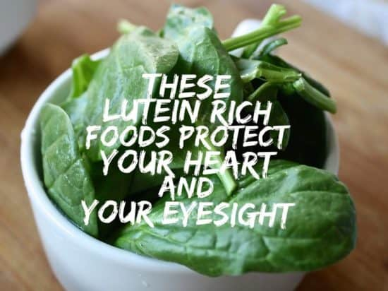 Lutein rich vegetables list