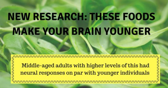 These foods make your brain younger