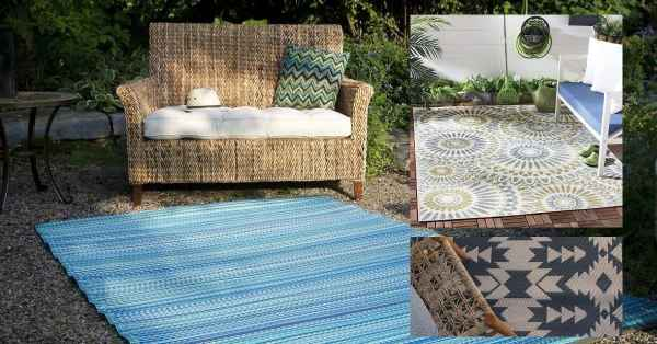 How To Choose The Best Outdoor Rug, What Is The Best Material For Outdoor Rug