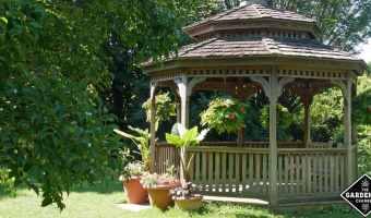 Backyard gazebo plans