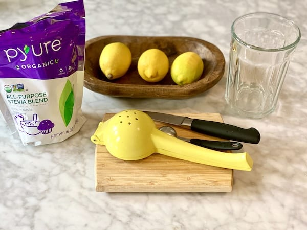low calorie lemonade ingredients
