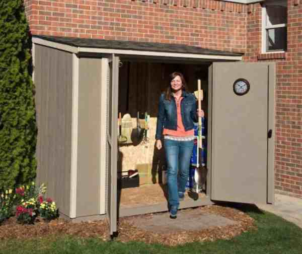 lowes heartland lean to garden shed