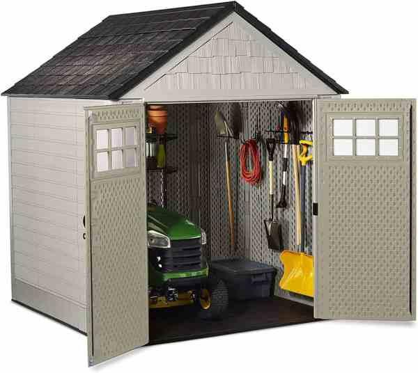 Rubbermaid 7 x 7 garden shed