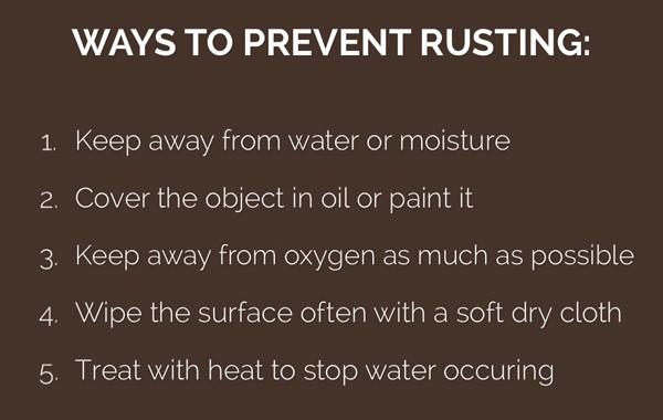 Prevent Rust