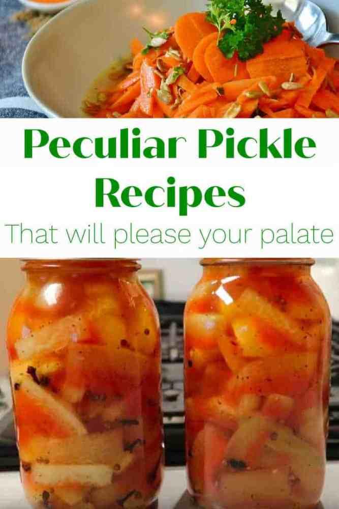peculiar pickle recipes