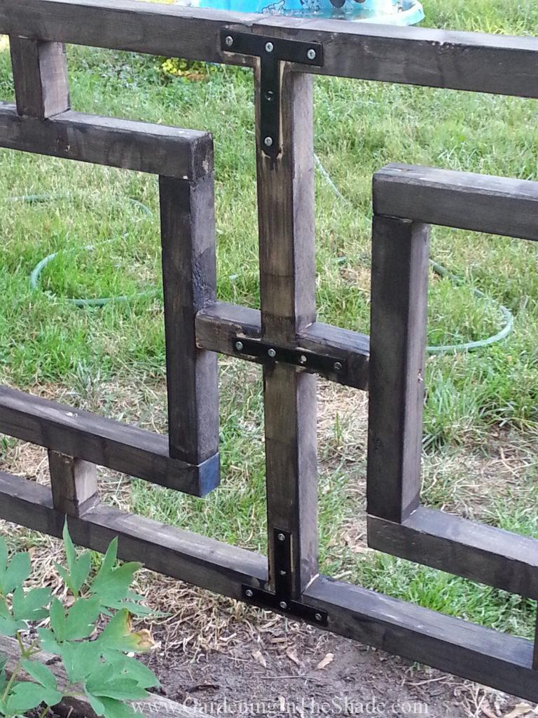 Painted Zinc Mending straps