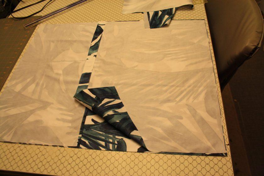 Chair Cushion Fabric Pieces (2)