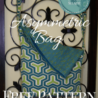 Asymmetric Bag, Free Pattern and Tutorial