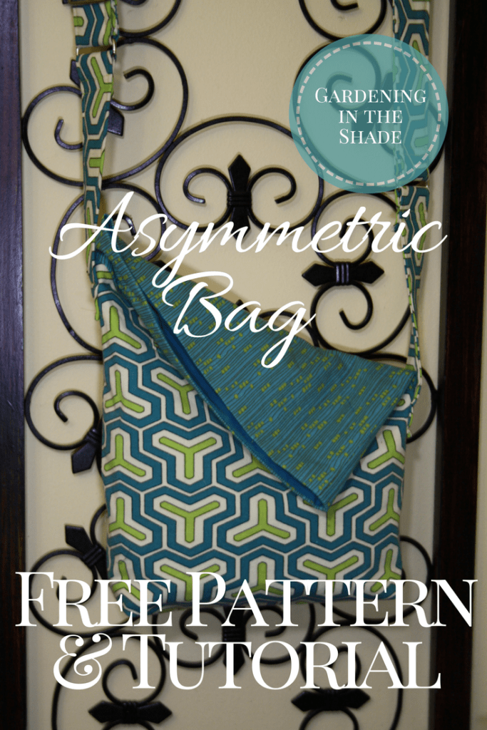 Asymmetric Bag Free Pattern and Tutorial