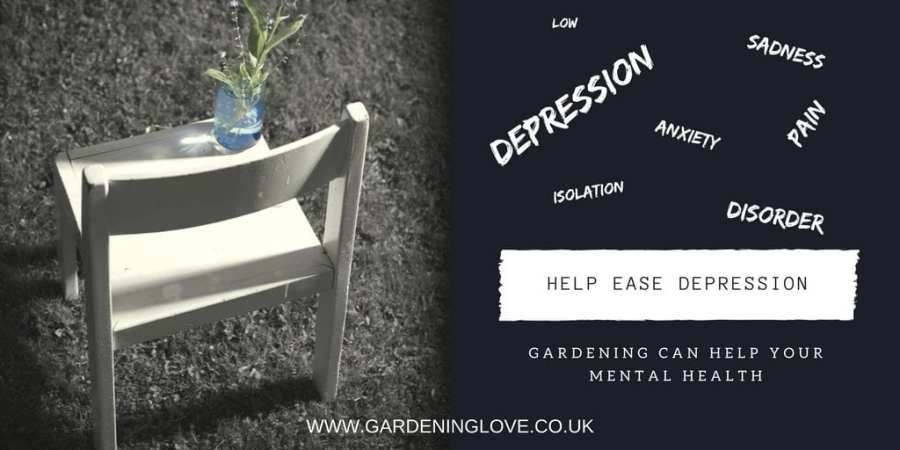 Gardening helps depression