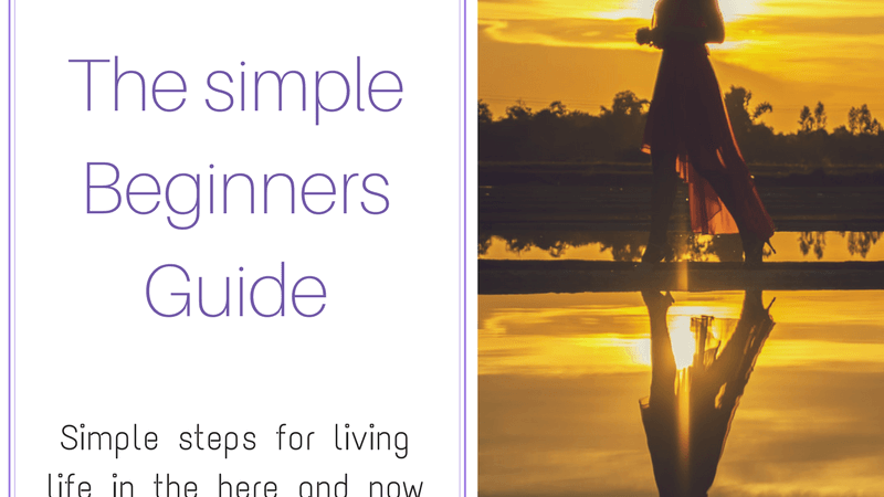 Mindfulness the simple beginners guide. Easy steps for living mindfully. #mindful #mindfulness #minfulnesstechniques