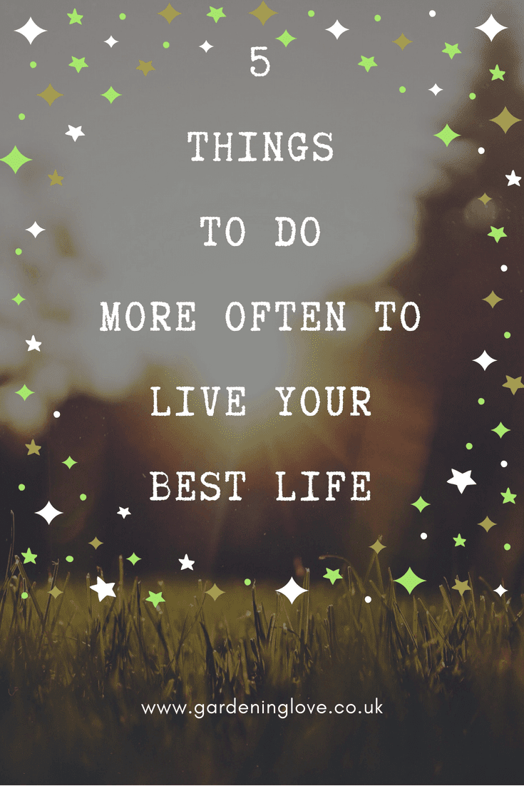 Life your life with meaning with these 5 things to do more often to live your best life. Get your life on track by living life with purpose and meaning. #life #lifehelp #selfimprovement #wellbeing #liveyourbestlife
