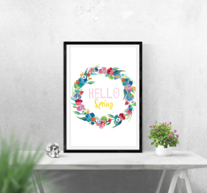Hello Spring Digital Download