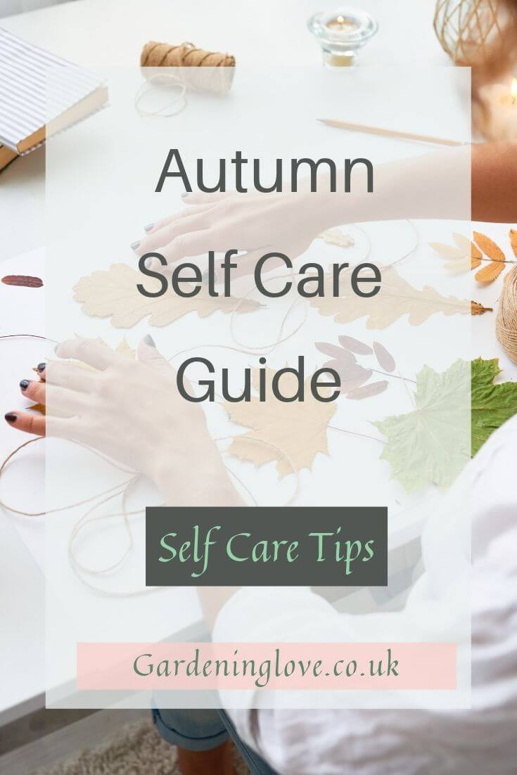 Up your self care game with the autumn self care guide. Full of self care tips and inspiration to add to your daily routine. #selfcarechallenge #selfcareguide #selfcaretips #selfcare #selfcareroutine #autumn #seasonal #autumnselfcaretips