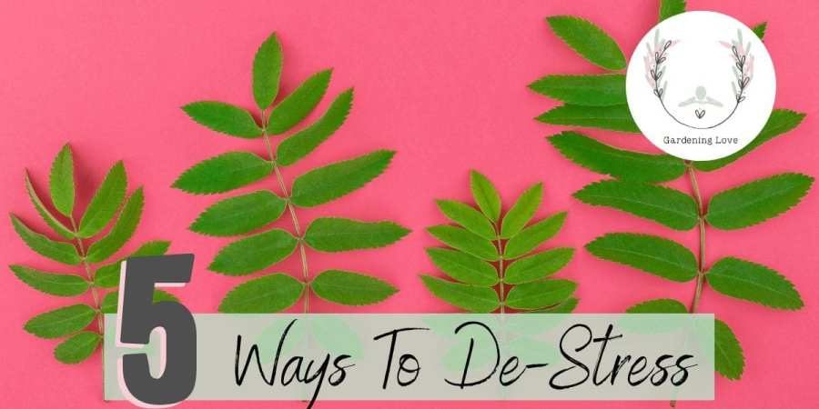ways to de-stress