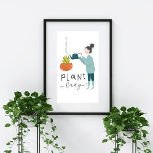 Plant Lady Digital Download