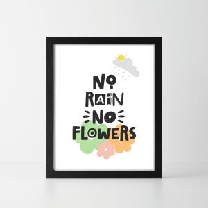 No Rain No Flowers Digital Download
