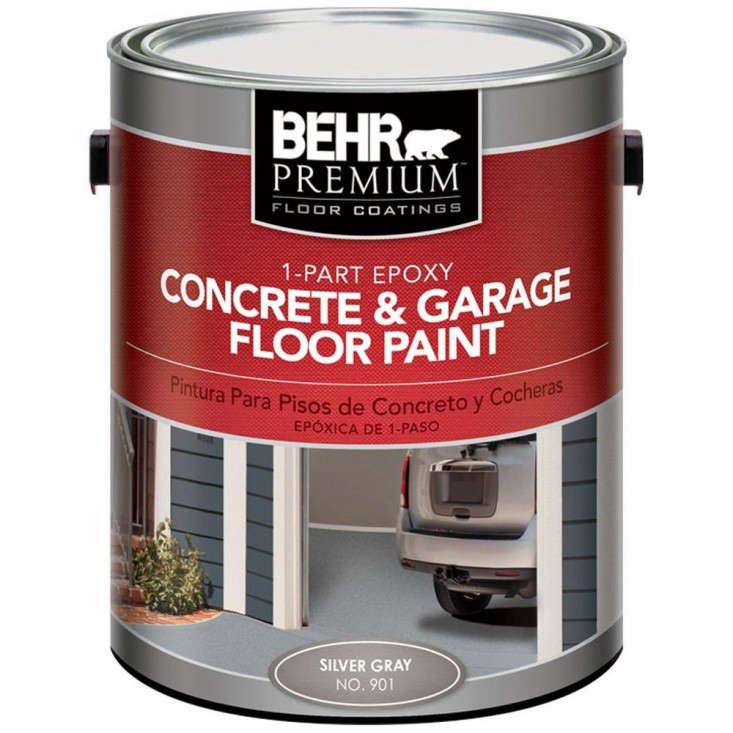 part epoxy concrete floor paint