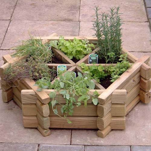 Herb Wheel Planter