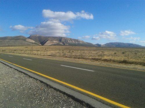 road trip Karoo