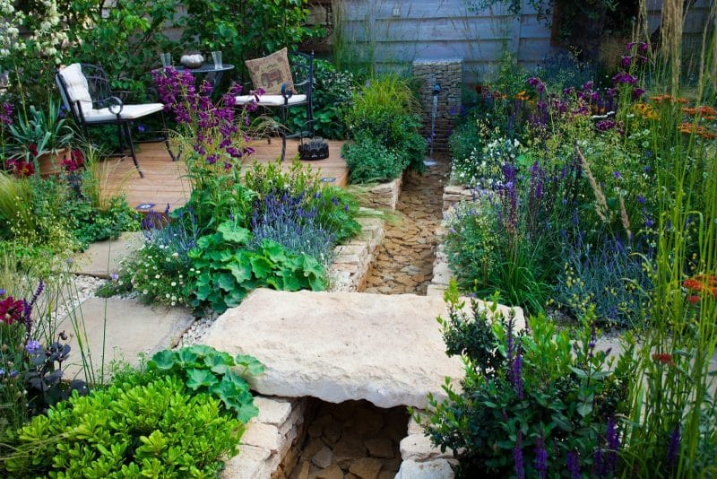 Natural Pond Edging Ideas