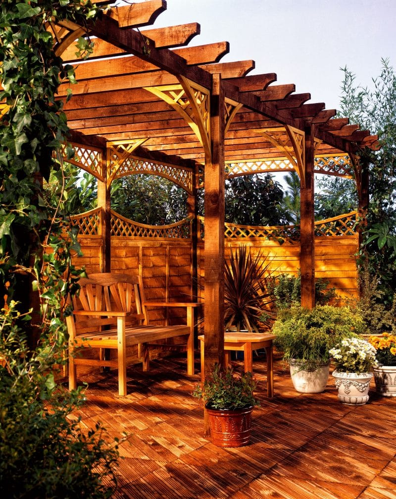 Wrought Iron Patio Support Columns