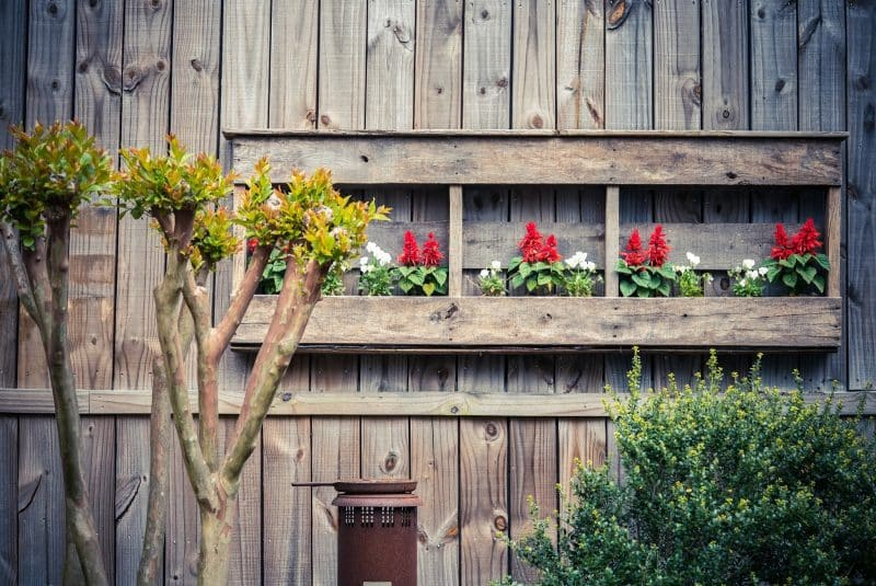 Gorgeous Fence Planters Page 6 Of 6 Garden Outline